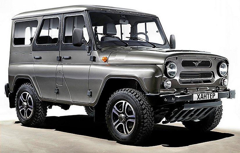 UAZ Hunter Trofi